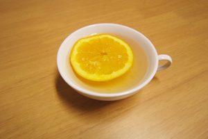 ホットオレンジ黒酢 シナモン風味