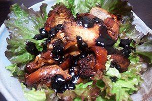 鶏むね肉の黒酢煮