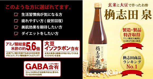製品製造特許取得「桷志田 泉 有機」