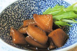かぶの黒酢煮