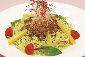 冷製黒酢坦々麺
